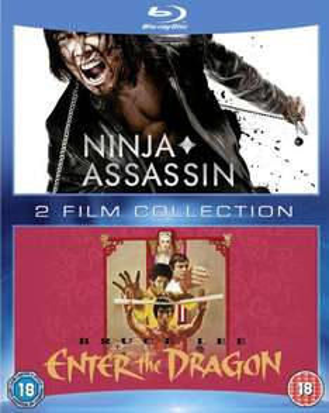 Enter the Dragon & Ninja Assassin (Blu-ray) für 8,21€ @Zavvi