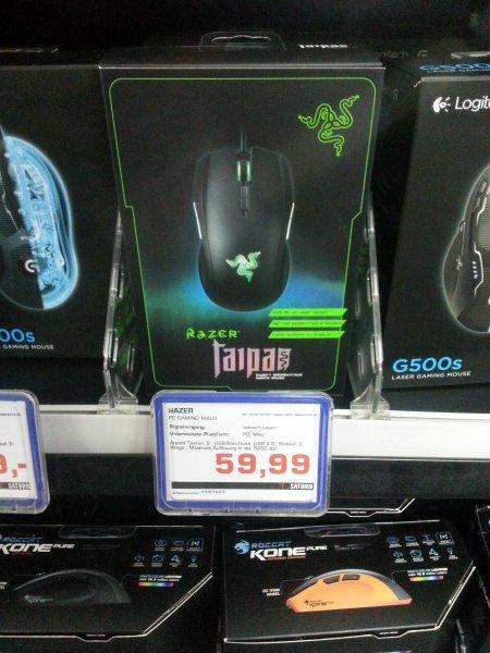 [LOKAL Gelsenkirchen] Razer Taipan 59,99€ bei Saturn