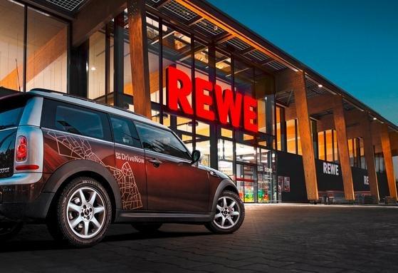 5% Rabatt bei Rewe Einkauf über DriveNow (Lokal)