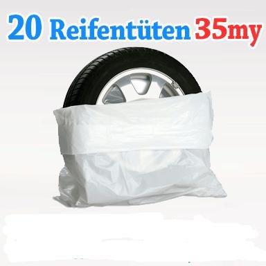 Reifen-Taschen XXL Gr. weiß für 11,58 € frei Haus