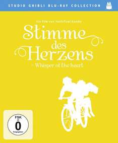 Stimme des Herzens - Whisper of the Heart (Studio Ghibli Blu-ray Collection) [Blu-ray] für 14,99 €