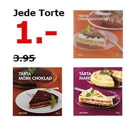 [Lokal Essen] IKEA Schwedische Tarten / Torten / TÅRTA für 1€, zum Muttertag.