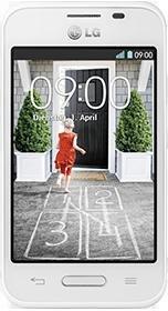 [Vodafone] LG L 40 Weiß Dualcore Smartphone mit Knock Code und Android 4.4