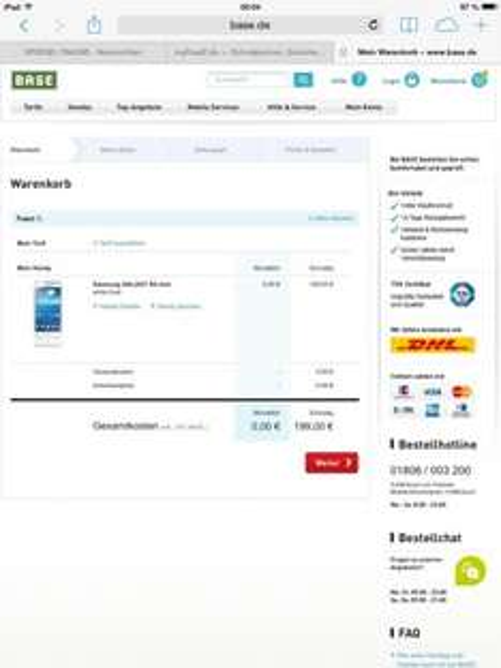 Samsung Galaxy S4 Mini für 199 Euro