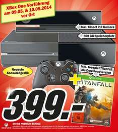 [Lokal - Osnabrück] Xbox One 500 GB inkl. Titanfall als Download 399 € bei Media Markt