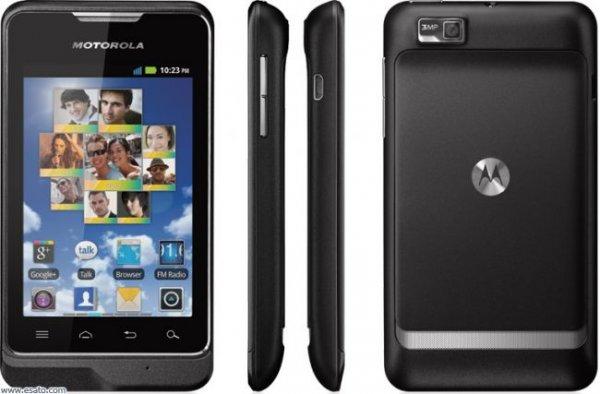 Motorola Motosmart black