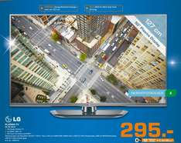LG 50PN4503 Plasma für 295€ Lokal Saturn Chemnitz