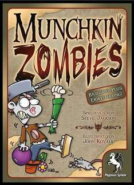 Munchkin Zombies 1 + 2 + 3 + 4  (Kult-Kartenspiel)