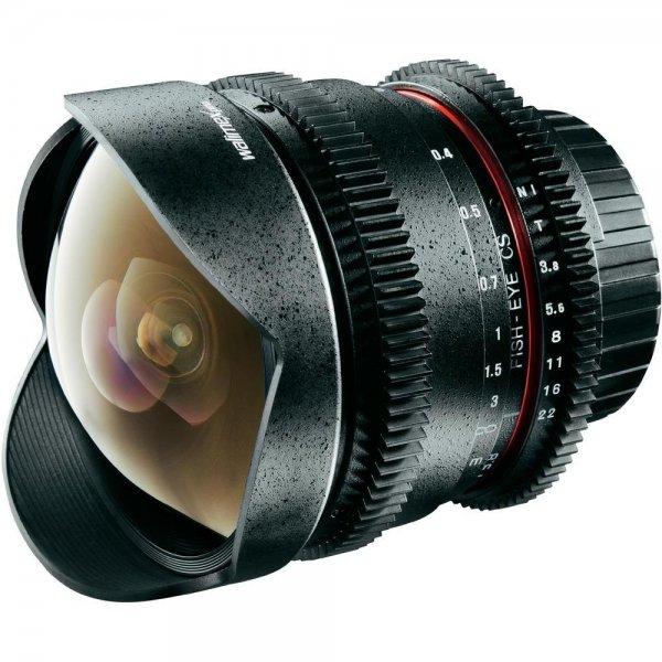 Walimex pro 8/3,8 Fisheye Objektiv VDSLR [Canon + Nikon] für 229 € [Qipu: 217,55€]