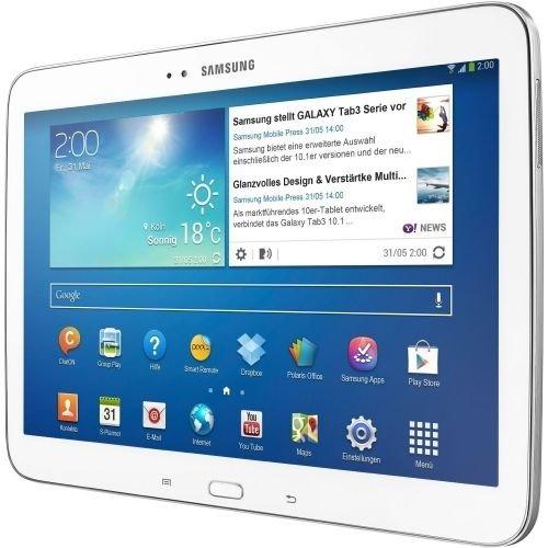 SAMSUNG GALAXY TAB 3 (16 GB, Weiß, Wifi) Für 219€ + 0,00€ Versandkosten.