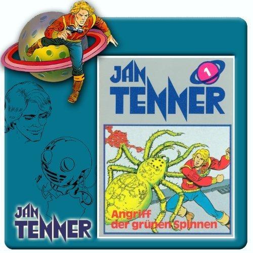 Jan Tenner 1: Angriff der grünen Spinnen (Hörspiel)