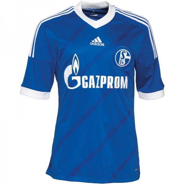 Schalke Heimspiel Trikot Kobalt/Weiß 2013/2014
