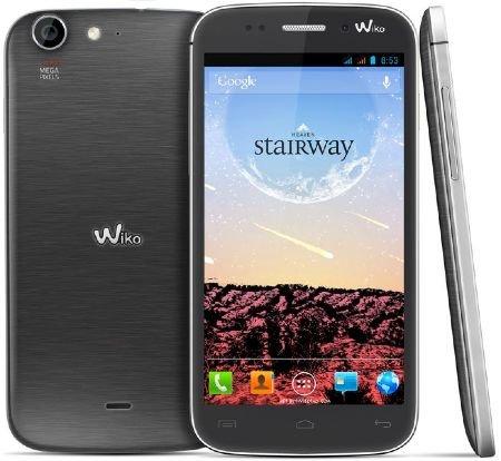 Wiko Stairway Dual-SIM IPS HD-Touchscreen mit Gorilla Glas, Quad-Core 1,2GHz Prozessor, Dual-SIM, 13 MP Kamera, 5 MP (B-Ware)