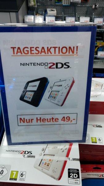 [Lokal München] Saturn im PEP Nintendo 2DS für 49,00€