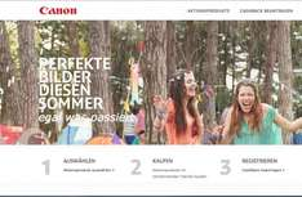 Canon CashBack Aktion Mai-Juli 2014 für Spiegelreflexkameras, Objektive & Blitzgeräte, Kompaktkameras & Fotodrucker sowie Camcorder, bis zu 250 Euro zurück!