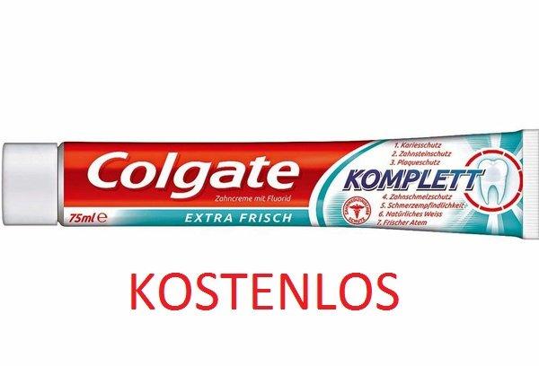 """[DM BUNDESWEIT] """"Colgate Komplett Extra"""" Zahnpasta 75ml kostenlos durch Sofort-Rabatt-Coupon"""