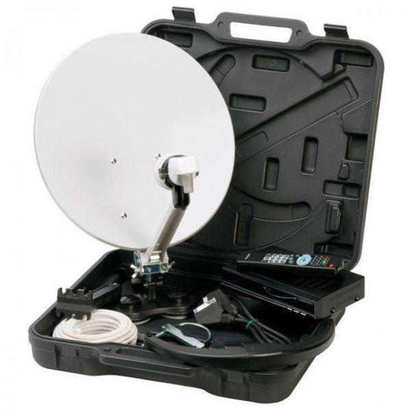 Mobile Camping Satellitenanlage Medion inkl. Sat-Receiver statt 69,99 Euro