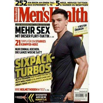 Men's Health Jahresabo für 19,90€ bei DailyDeal