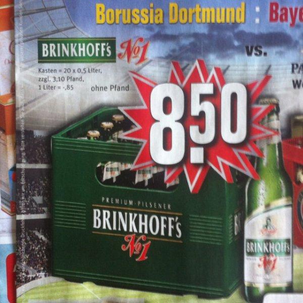 [REWE regional] Brinkhoffs No. 1 20x0,5L 8,50€