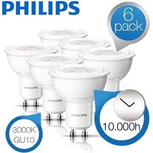 6er Pack Philips LED-Strahler @ ibood