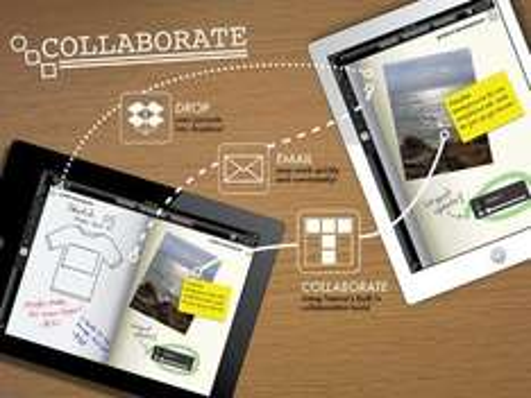 Taposé [iOS - iPad] - Collaborative Content Creation