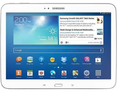 Samsung Galaxy Tab 3 10.1 P5210 WiFi Neuware weiss oder schwarz für 194,95€ @MP