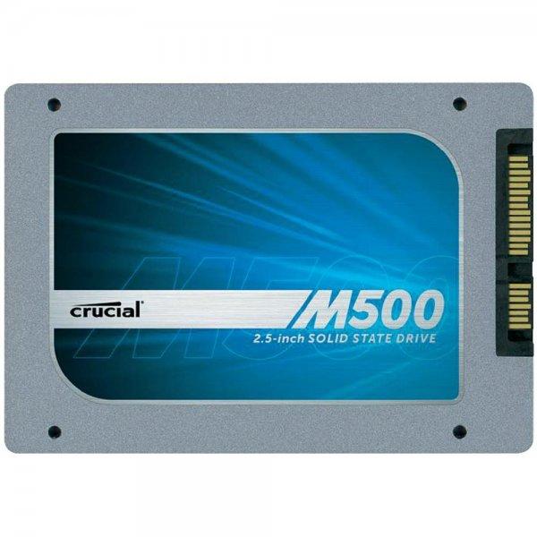 Crucial CT240M500SSD1 interne 240GB SSD (6.4 cm (2,5 Zoll), 256MB Cache, SATA 3) 85,63€ ohne SÜ @conrad.de