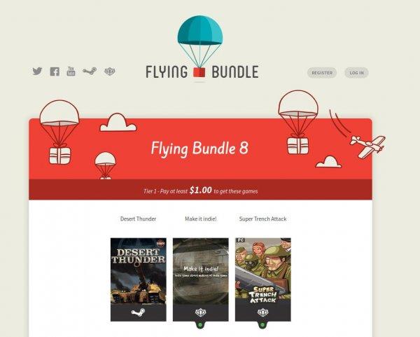 Steam und Desura Keys bei Flying Bundle