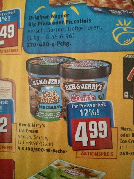 Ben & Jerry's bei Rewe für 3,99€ mit Coupies - leider nicht bundesweit!
