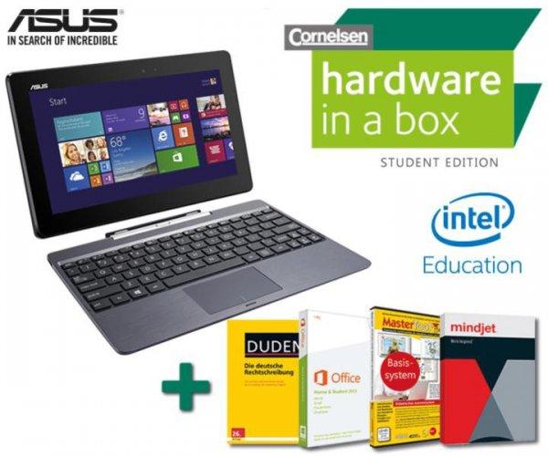 [Studenten] Asus T100 inkl. 500 GB Dock - 399€ + VSK nur für Studenten/Schüler/Lehrer