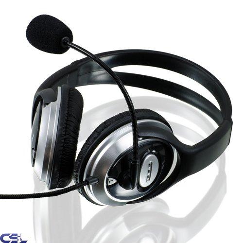 [Ebay WOW] CSL S-085 Headset HQ 960 Komfort Kopfhörer mit Mikrofon