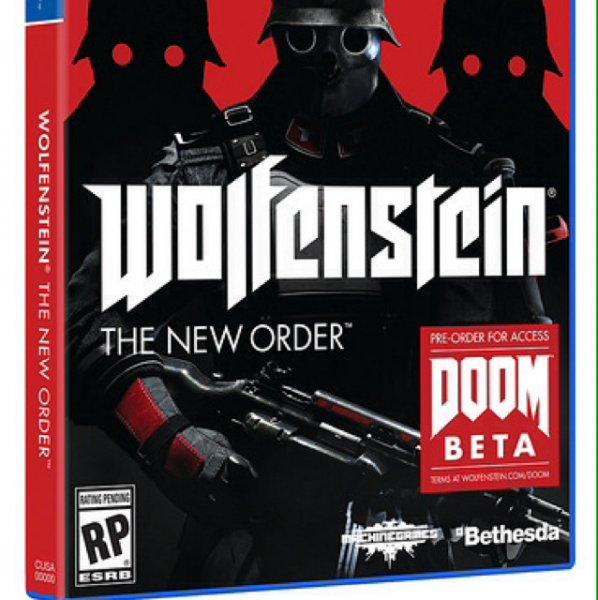 Wolfenstein PS4 US Version