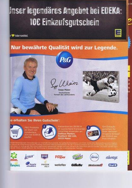 [EDEKA]  P&G Produkte für 20€ kaufen und 10€ Einkaufsgutschein für gesamtes Sortiment erhalten