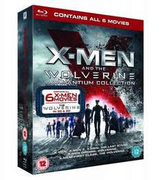 X-Men And The Wolverine Adamantium Collection [Blu-ray 3D + Blu-ray] für 31€ @Amazon.co.uk