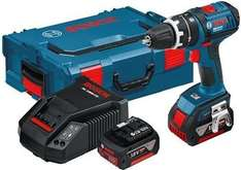 Bosch GSB 18 V-LI Professional 2 x 4,0 Ah + L-Boxx - 299€