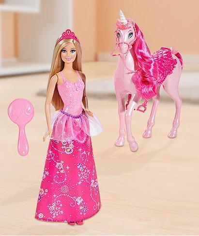 Barbie Prinzessin mit Einhorn, Geschenkset (Bundesweit?) bei Kaufland