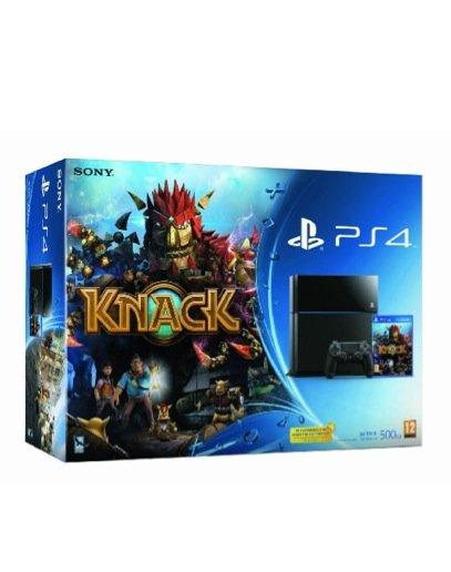 Sony PS4 und Knack für 370 EUR bei Amazon Warehouse Deals England