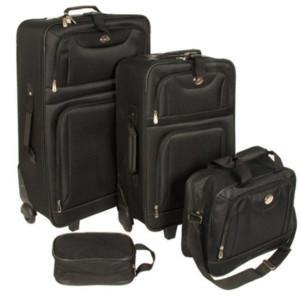 4 teiliges Kofferset @Ebay