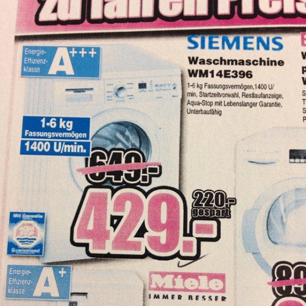 Siemens Waschmaschine A+++