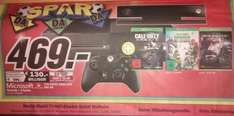 Mediamarkt Mülheim Xbox One Kinect + 3 Games ( COD Ghosts + Plants Vs Zombies + MG Solid V ) 469 Euro