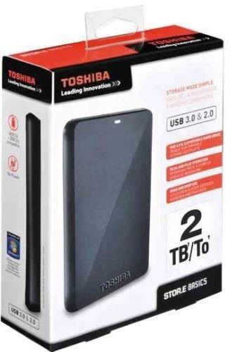 Toshiba 2TB Stor.E Basics USB 3.0 @Ebay