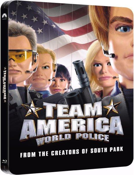 Blu-ray - Team America: World Police (Steelbook) für €9,77 [@Zavvi.com]
