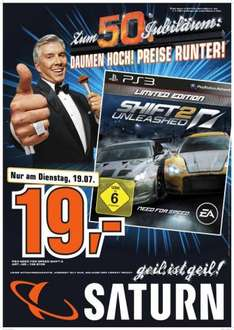 Need for Speed Shift 2 Limited Edition PS3 @19€ Saturn Berlin [Lokal?]