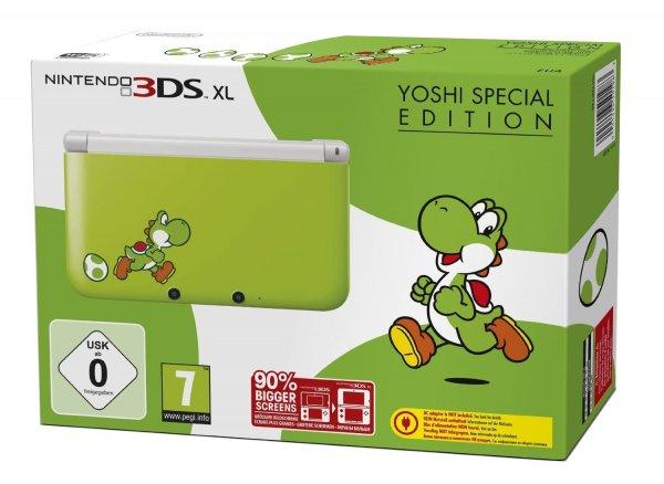 [Saturn.de] Nintendo 3DS XL – Konsole Yoshi Special Edition (ab 169€)