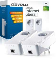Devolo dLAN Powerline 650+ Starter Kit  (2 Adapter mit Steckdose)  @Amazon
