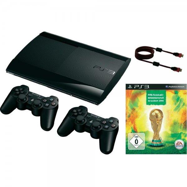 Playstation 3 Bundle inkl. FIFA WM 2014 bis 18Uhr offline, danach online bei Real!