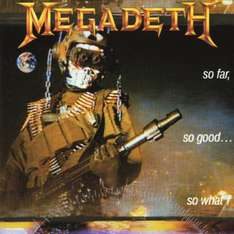 Megadeth - So Far So Good - Vinyl 9.99 Euro inkl Porto