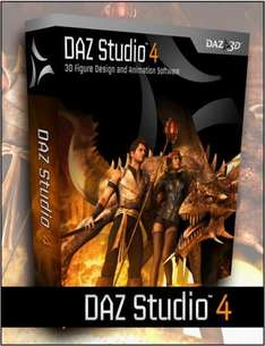 3D-Software DAZ Studio 4 (Windows & Mac)