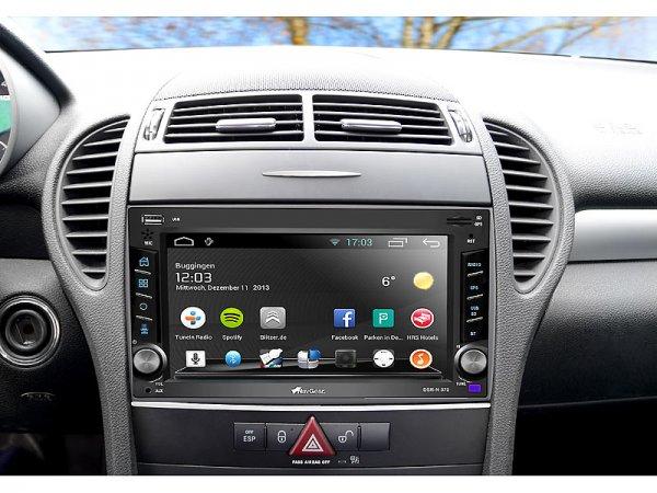 2-DIN Android-Autoradio - GPS, WiFI, BT2, MirrorLink (refurbished) 470,- € günstiger
