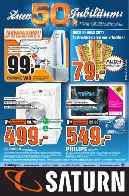 Nintendo Wii inkl Remote und Nunchuk sowie Mario Kart und Lenkrad im Saturn Tübingen [Lokal?]